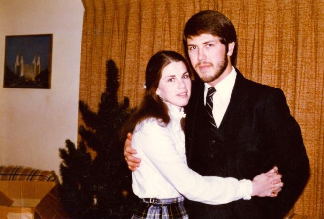 January 1984 Pamela & Matt first anniversary